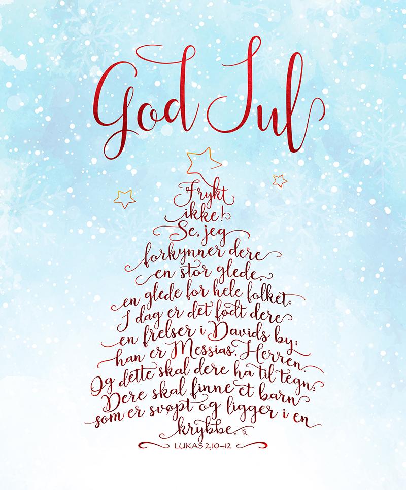 God jul – frykt ikke