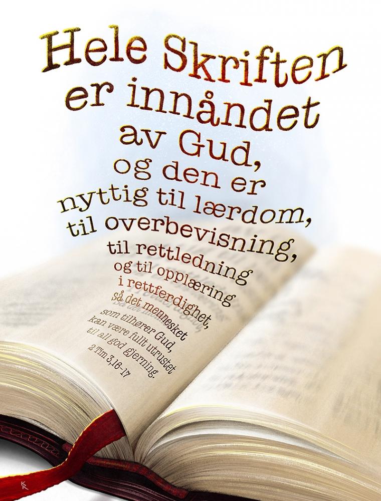 Hele skriften er innåndet av Gud